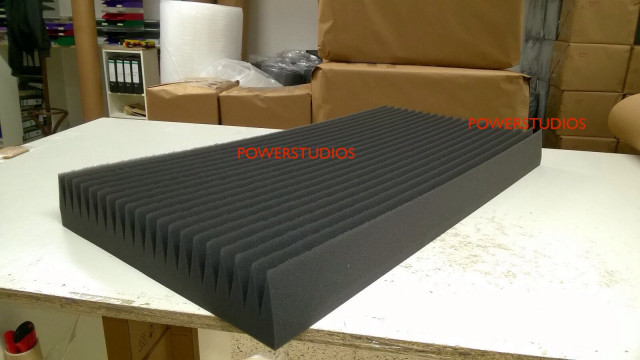 Promoción-6 super Panel Acústico-100x50x10cm Nuevos en Stock+envío incluido