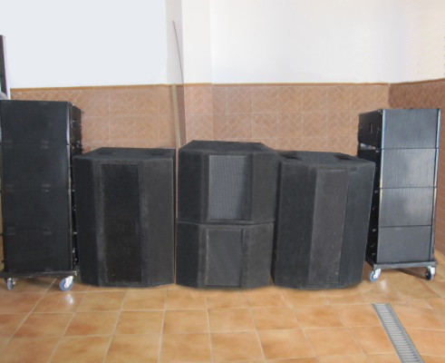 LINE ARRAY BEYMA DE 20.000W