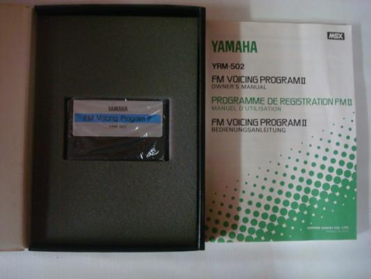 Yamaha FM VOICE PROGRAMMING II YRM-502