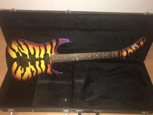 ESP George Lynch Signature Purple Tiger Sunburts - NUEVA