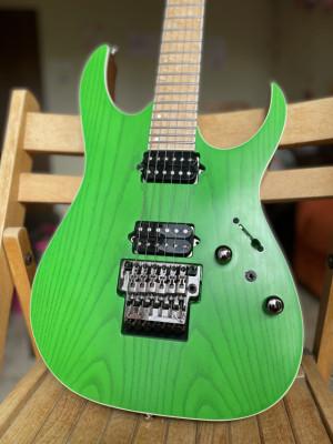 Ibanez RGR5220M-TGF Prestige Japan Transparent Fluorescent Green