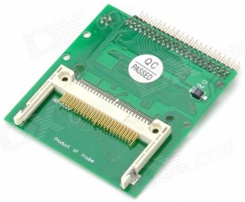 """Adaptador de tarjeta Compact Flash CF A 2,5 """"IDE PATA Hard Drive"""