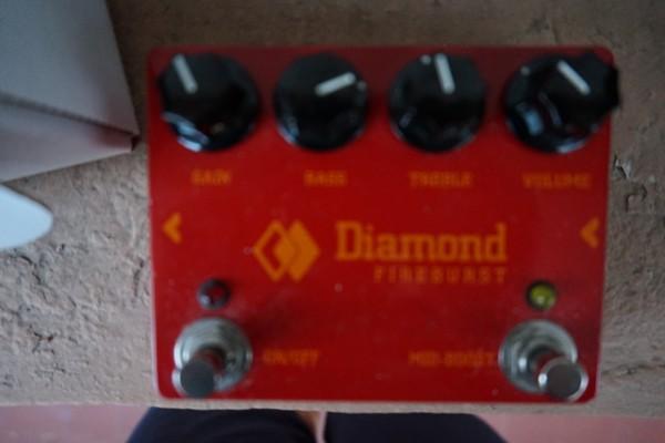 Diamond Fireburst (fuzz)