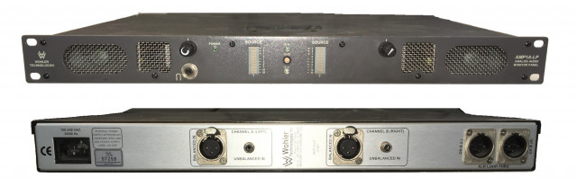 Wohler Technologies AMP1A-LP Analog Audio Monitor panel