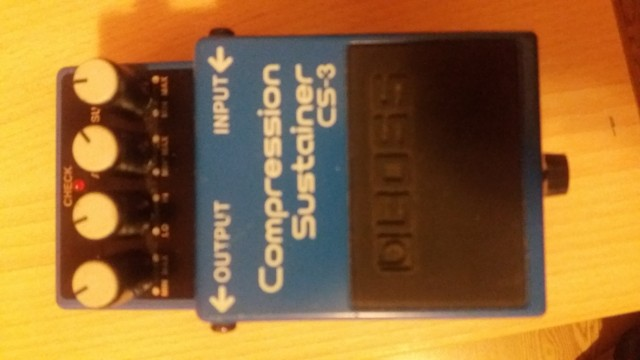 BOSS Compressor Sustainer CS-3
