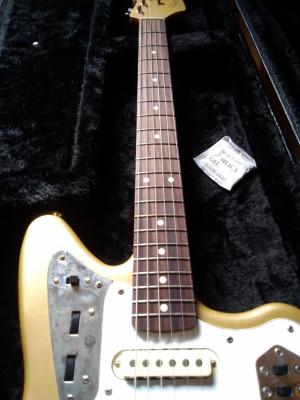 Fender jaguar Gold Relic