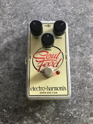 Pedal EHX Soul Food (clon del Klon Centaur)