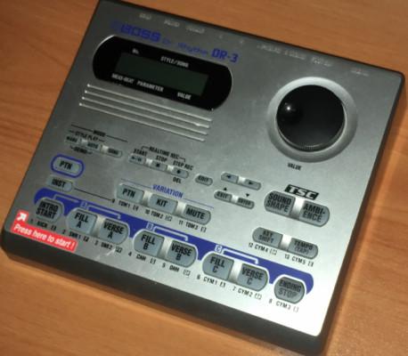 o CAMBIO: Boss DR-3 Caja de ritmos