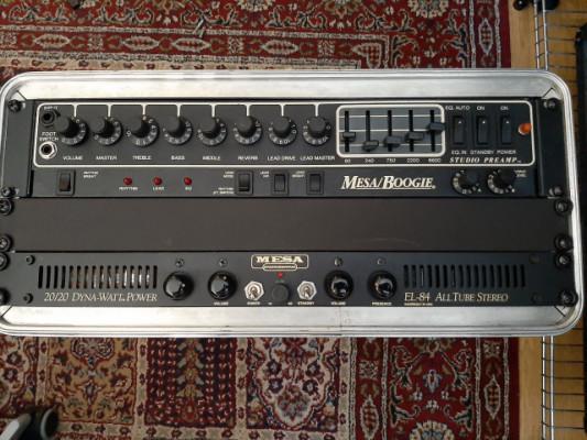 Mesa Boogie Studio Preamp +Mesa boogie 20/20 dyna watt power amp