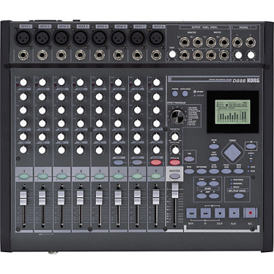 KORG D888 MIXER MULTIPISTA 8 IN/OUT