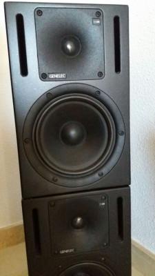 Genelecs 1030 A  Professional Studio Monitors