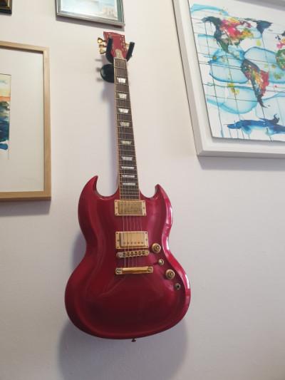 Gibson SG Diablo  Guitar of the month feb 2008