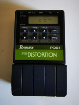 Ibanez PDS1 Distortion