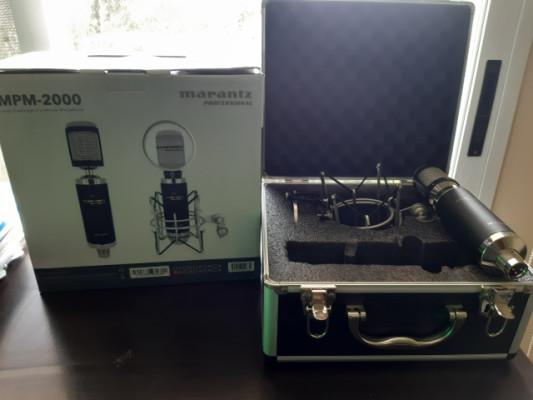 Micro condensador Marantz MPM-2000 , con antipop y araña
