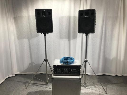 Conjunto de megafonía RAMSA / SAMSON