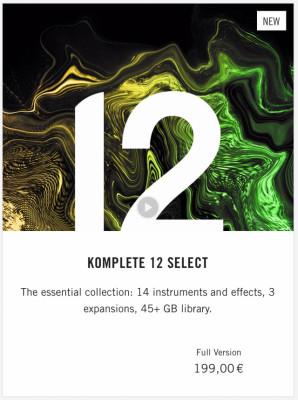 KOMPLETE  12 SELECT