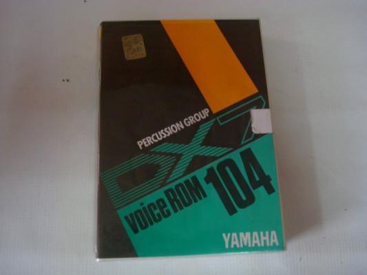 Yamaha dx7 Voice rom 104
