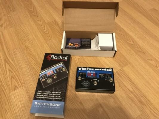 Radial Tonebone Switchbone ABY Conmutador Nuevo y a estrenar