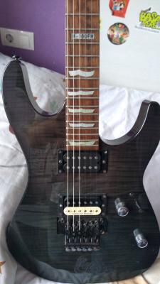 Guitarra eléctrica LTD -ESP  M -100 fm seymour Duncan