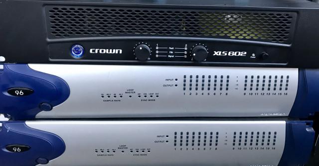Etapa de potencia Crown XLS 602