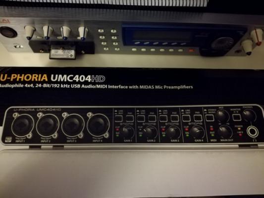 Behringer u phoria UMC404HD