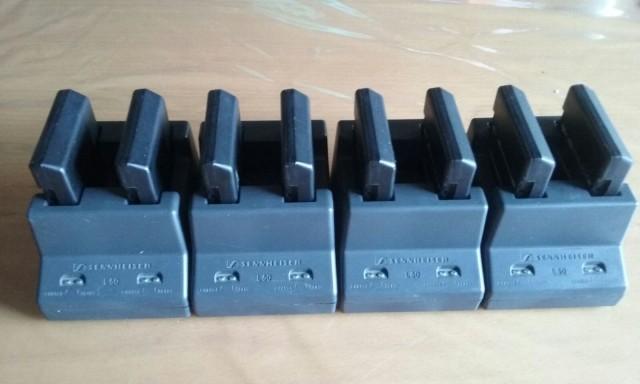 Cargador de batería Sennheiser L 50 +2 baterias BA 250-2