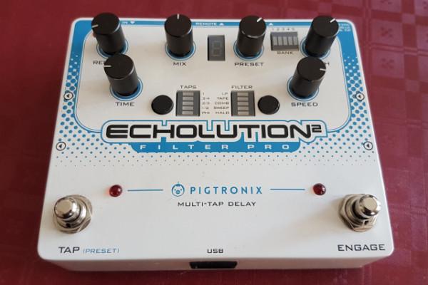 Pigtronix Echolution 2 Filter Pro (envío incluido)