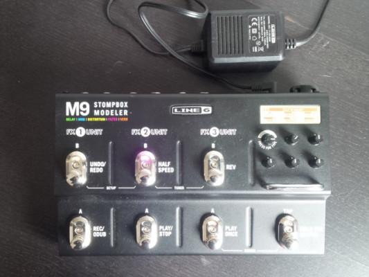 Line 6 M9 versión 2. Cambios dentro. Envío incluido.