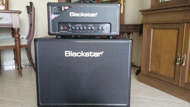 Blackstar ht-20 + pantalla htv-212 ó cambio por combo válvulas 18 - 22 w ó Fender Bassbreaker 30R
