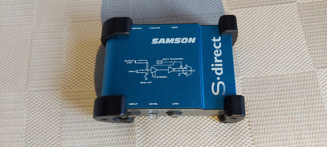 Caja Inyección Directa Samson S.Direct
