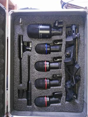 Superlux DRK K5C2 kit de microfonos para batería
