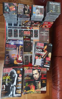 Revistas Guitarra Total. Lote 111 números