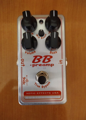 Xotic BB Preamp MB Custom Shop (OFERTA)