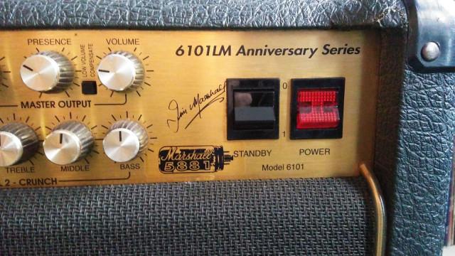 Marshall  6101 LM 30th Anniversary 50 watt Combo