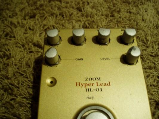 pedal de guitarra zoom