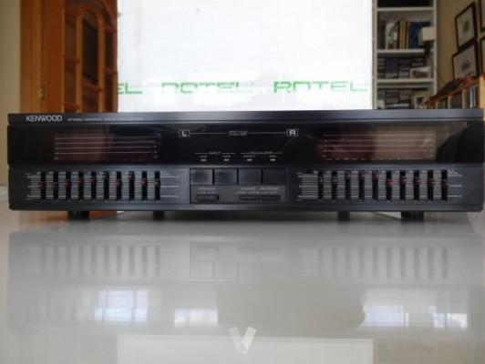 Ecualizador grafico estereofonico Kenwood GE-820
