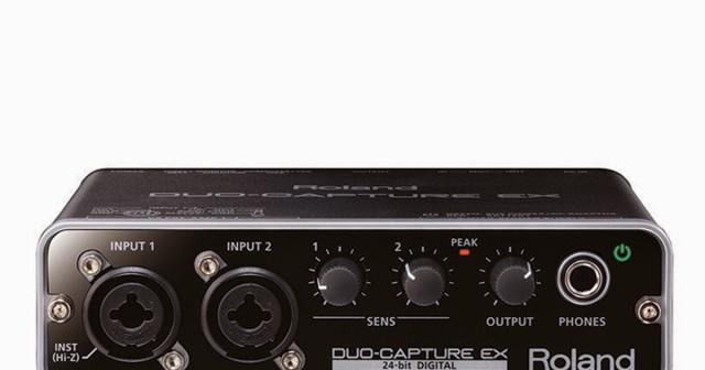 interface audio Roland duo capture ex