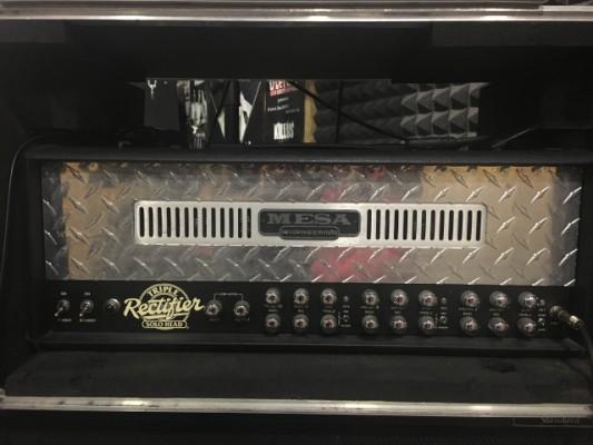 PRECIAZO! Mesa Boogie Triple Rectifier flghtcase + 5 válvulas 6L6