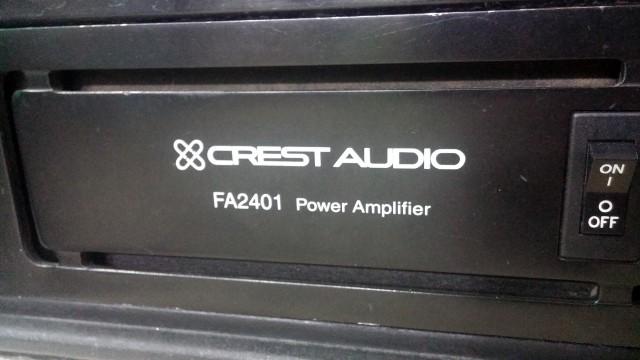 Etapa Potencia CREST AUDIO FA2401