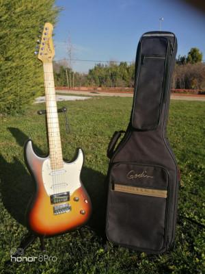 Guitarra GODIN Session MN Vintage Burst SG