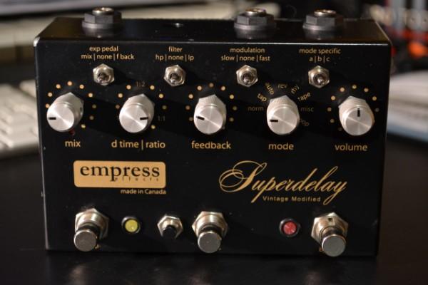 empress vintage modified super delay