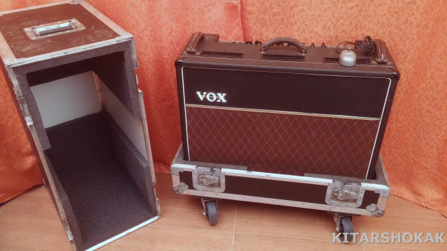 VOX AC 30 TOP BOOST VINTAGE 60´S + FLIGHT CASE