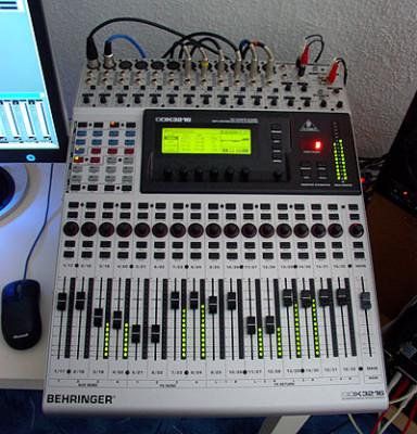 Mesa behringer digital ddx3216