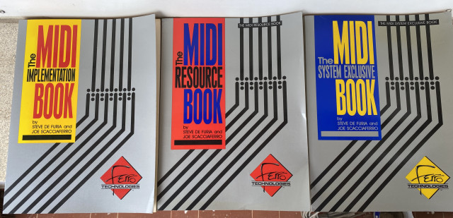 The Midi Books (Ferro Technologies)