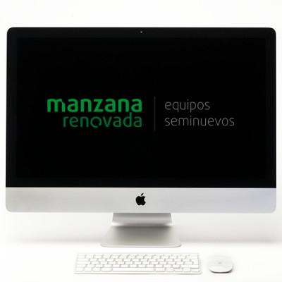 "iMac 27"" 5K core i7 a 4Ghz, 32Gb RAM, SSD 500Gb y Gráfica de 4GB"