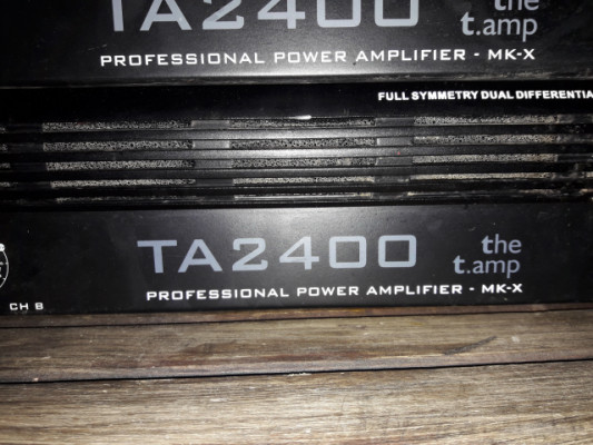 etapa de potencia t.amp ta2400 mk-x