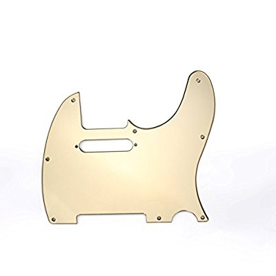 Golpeador telecaste  pickguard gold mirror