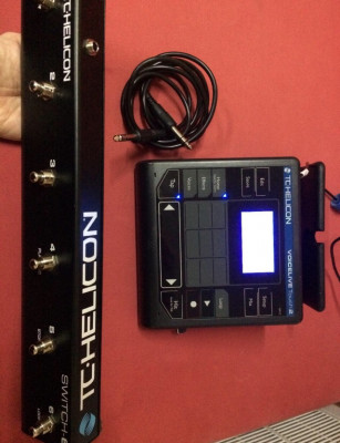 pedalera TC Helicon Voicelive Touch 2 + Switch - 6