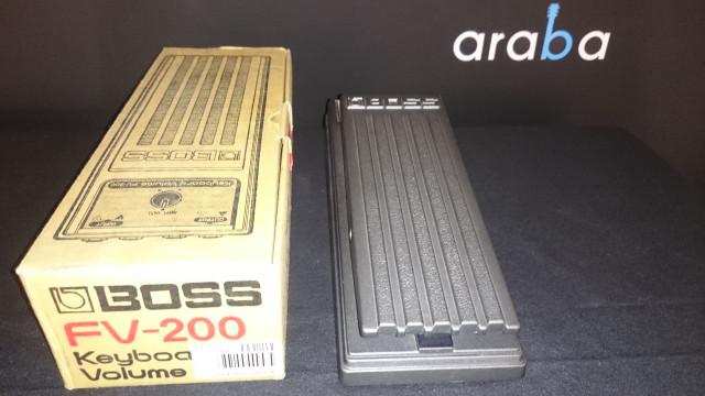 Pedal Volumen Boss Fv-200 Keyboard