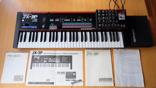 Roland JX-3P con Organix - Edición coleccionista